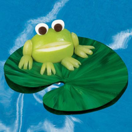 green apple Treats for Frog Lovers