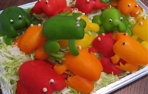 bell pepper frogs
