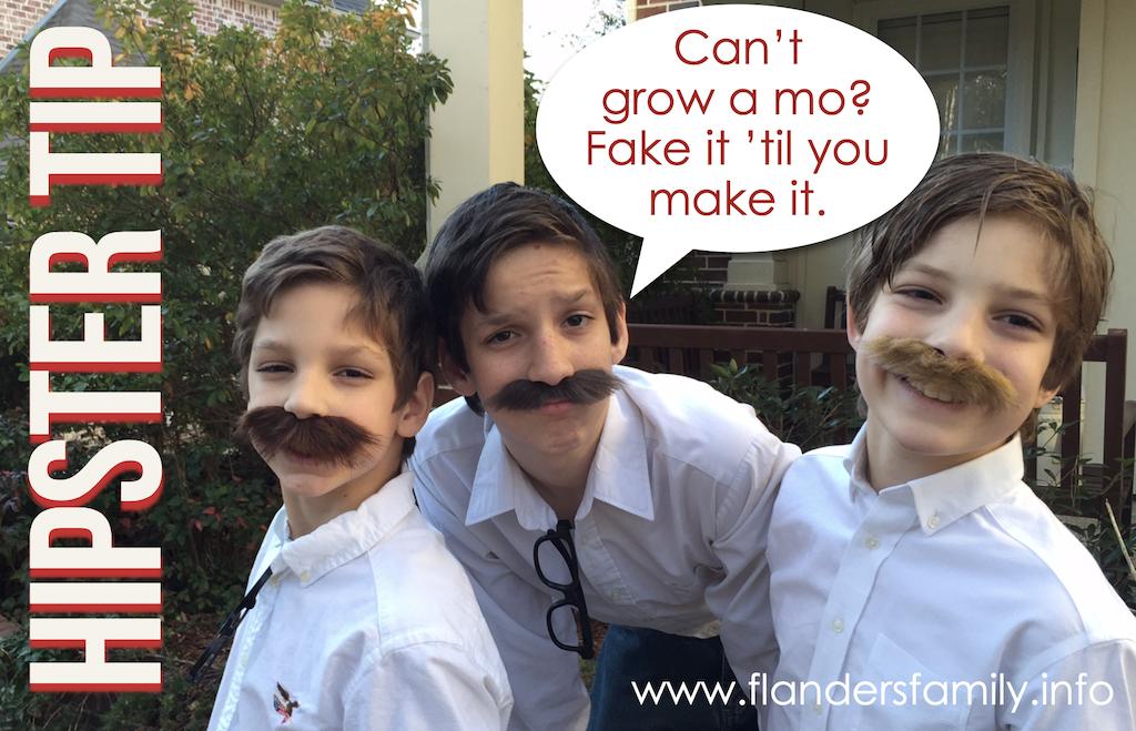 Fake Mustache Day