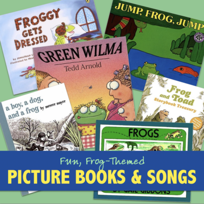 Frog-Themed Picture Books & Songs for Kids