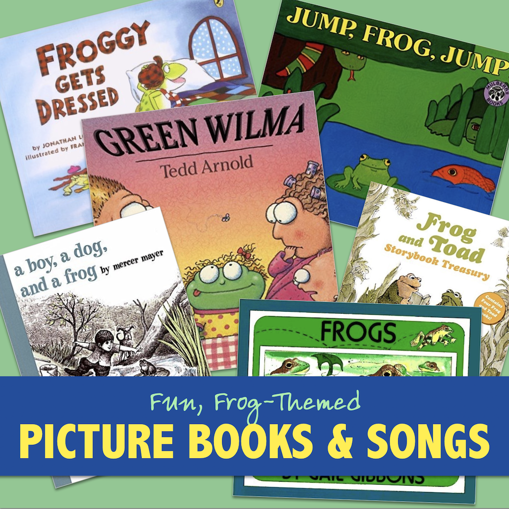Frog-Themed Picture Books