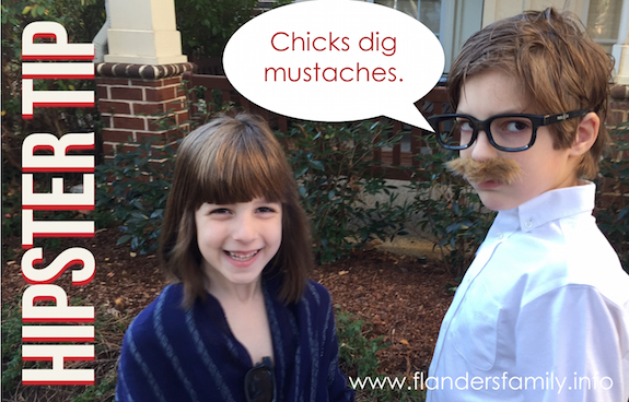How Hip Are You? Take our 10-Question Quiz celebrating (Fake) Mustache Day to Find Out!