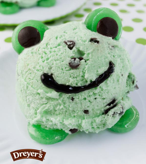 froggy ice cream
