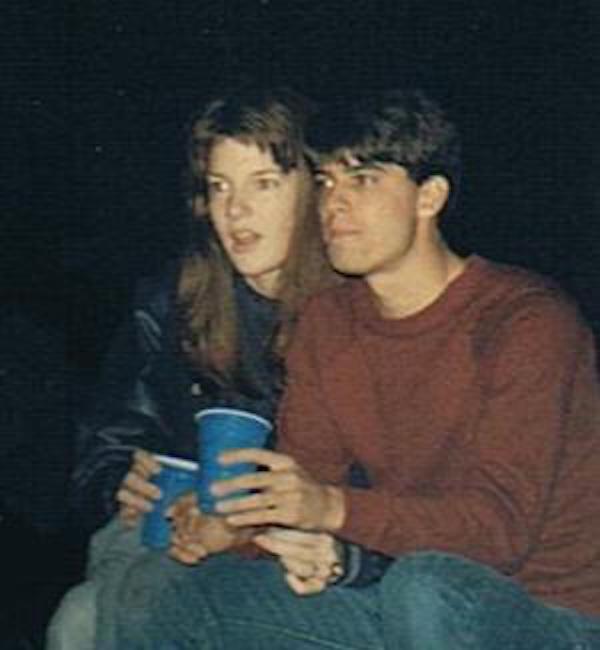 Doug & Jennifer in 1986