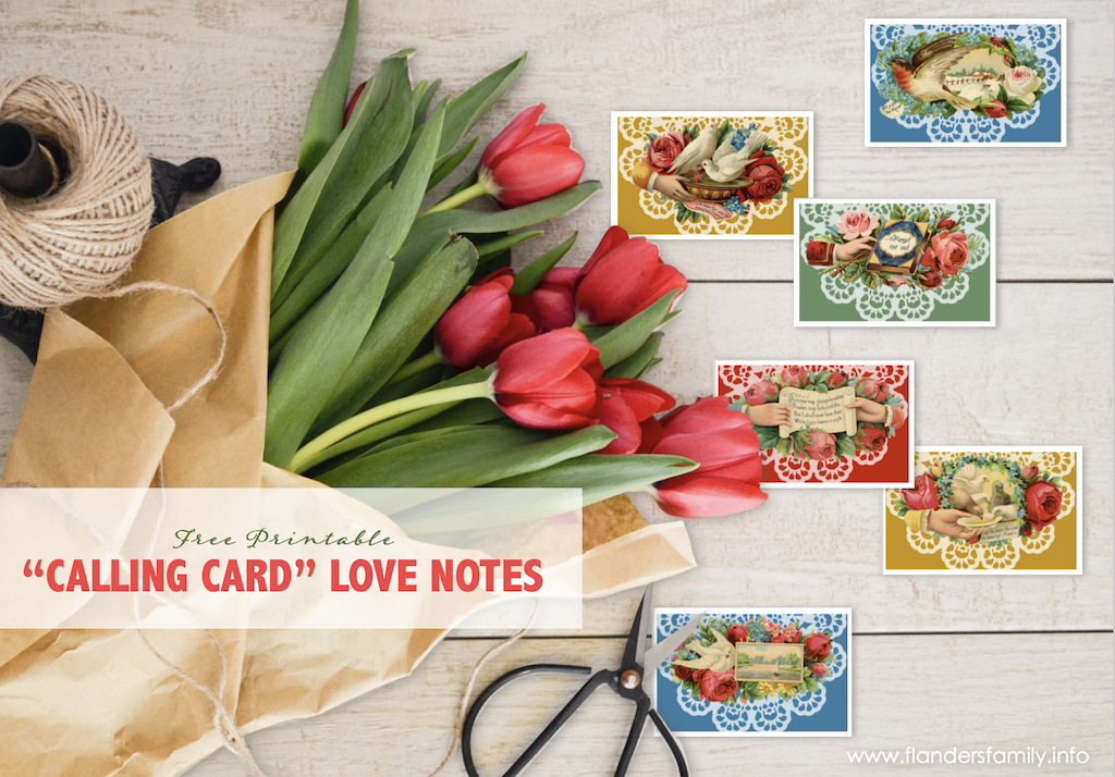 Free Printable Love Notes