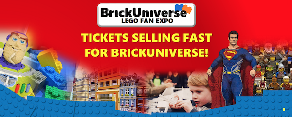 Giveaway: 4 Free Tickets to BrickUniverse Expo in Plano