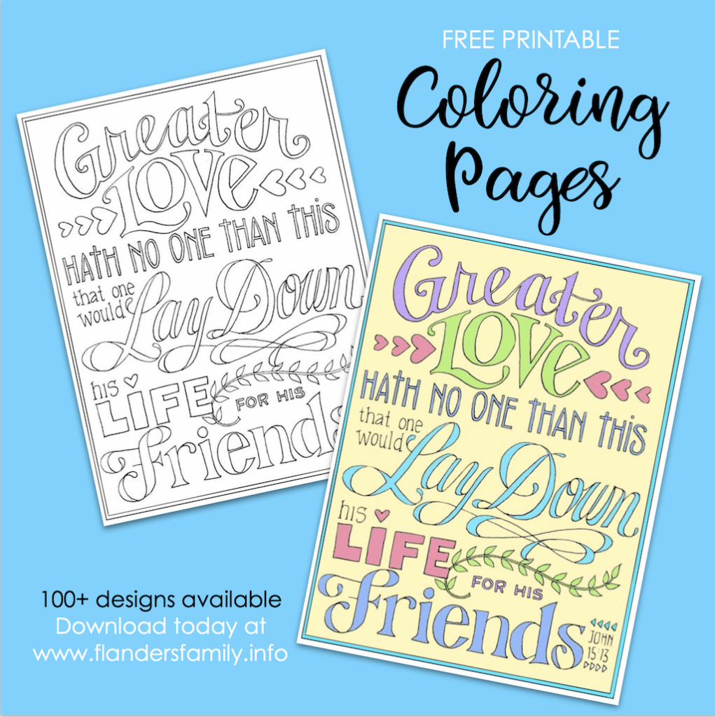 The Ultimate Sacrifice Coloring Page