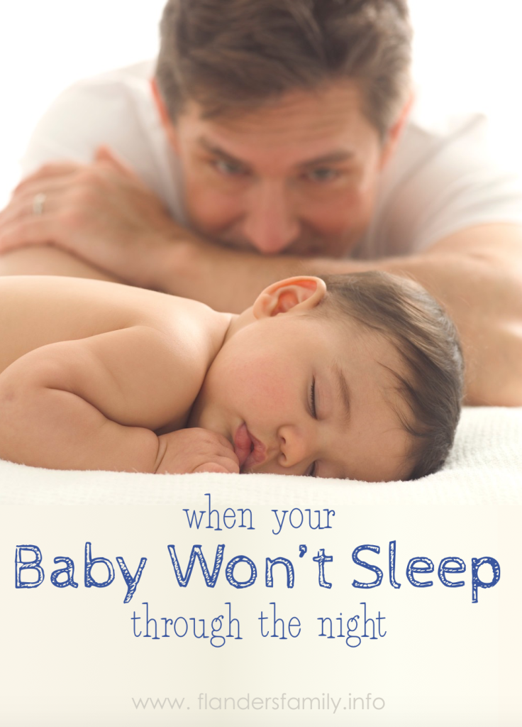 When Your Baby Won't Sleep through the Night - Should you let him cry it out or not?
