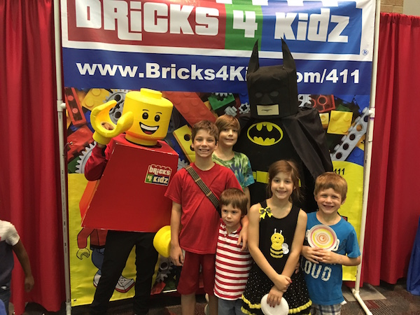Kids and Grandkids at BrickUniverse in Dallas
