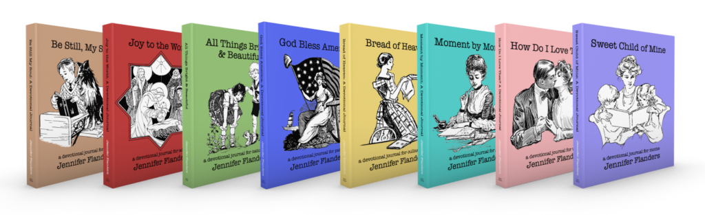 On sale now! Devotional Journals by Jennifer Flanders