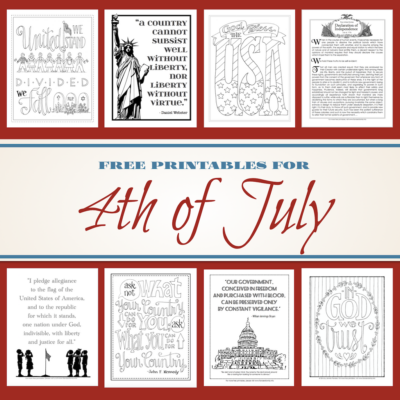Free Fourth of July Coloring Pages