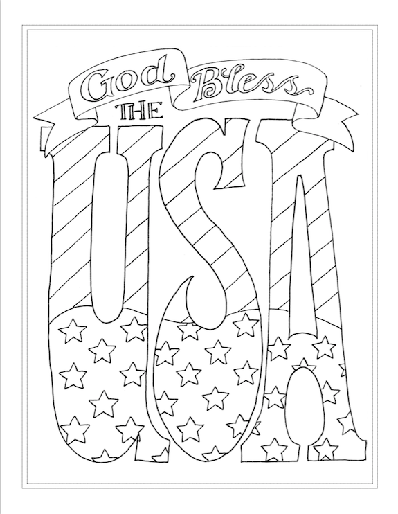 free printables for the 4th of July from flandersfamily.info