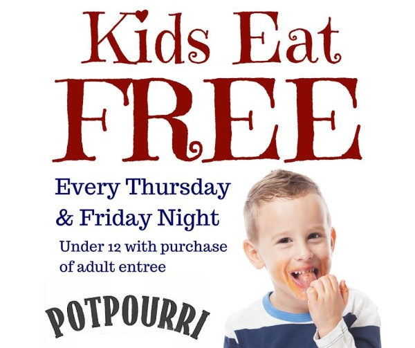 Free Meals for Kids (& Special Offers for Adults, Too)
