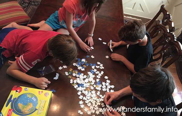 It's a small world: 3-D puzzle globe does a great job of combining fun with learning.