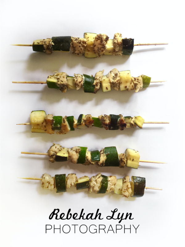 Honey-Glazed Chicken Kabobs -- these are scrumptious!