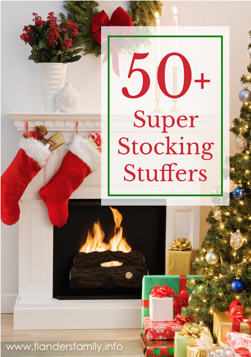 50 Stocking Stuffer Ideas for Everyone on Your Gift List