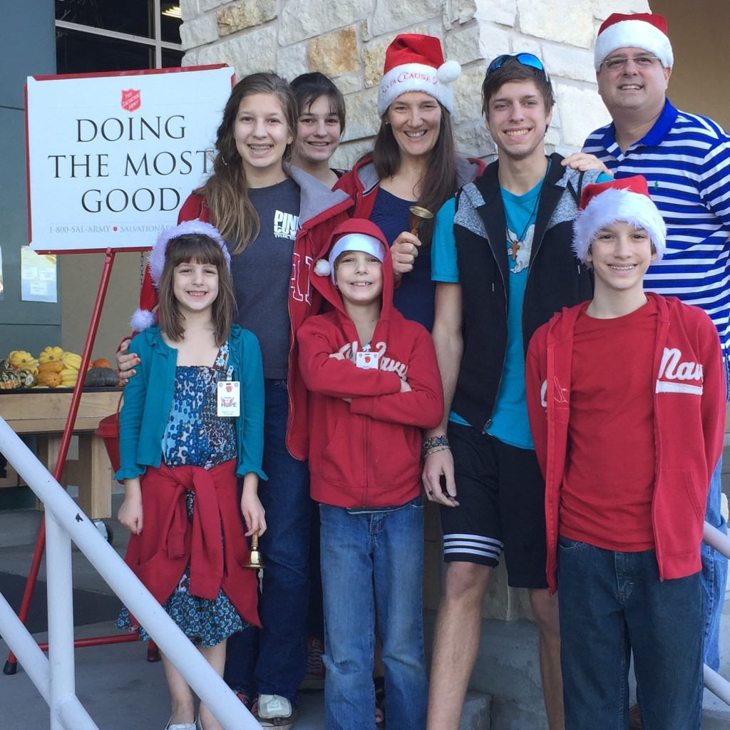 Bell Ringing for Salvation Army