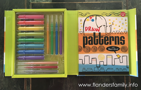 Draw Patterns - a fun way for preschoolers to learn pattern recognition
