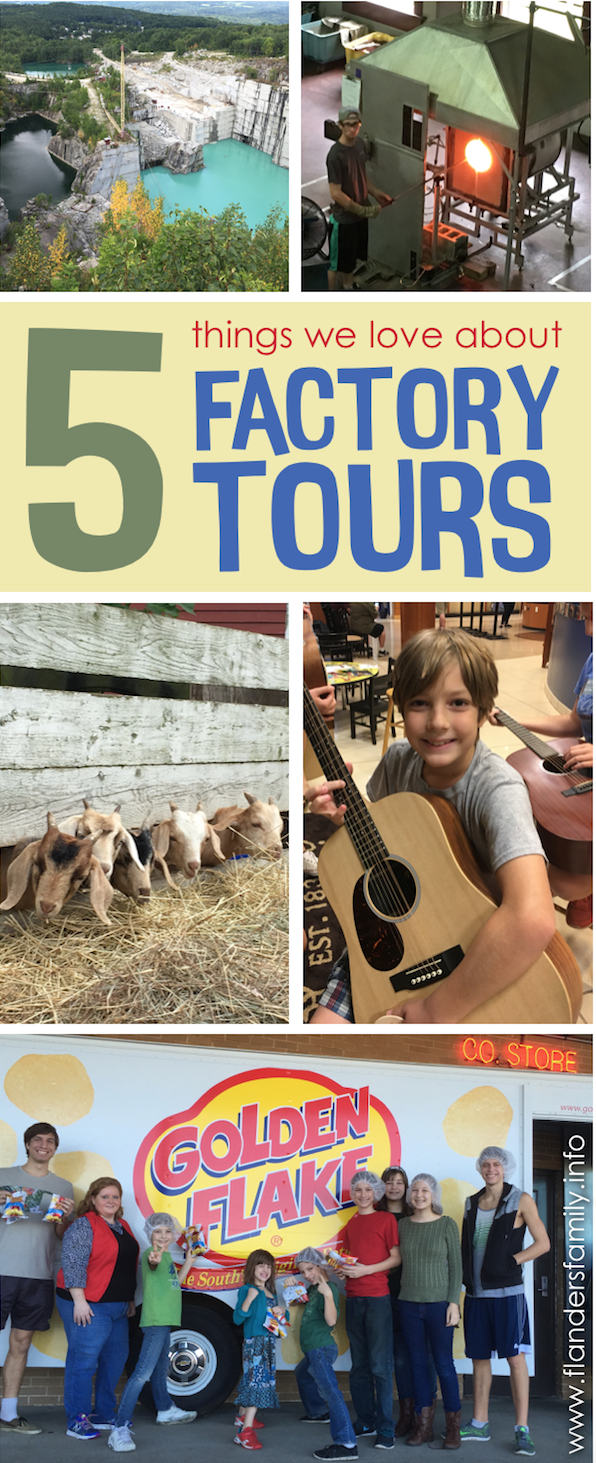 5 Reasons Our Family Loves Factory Tours