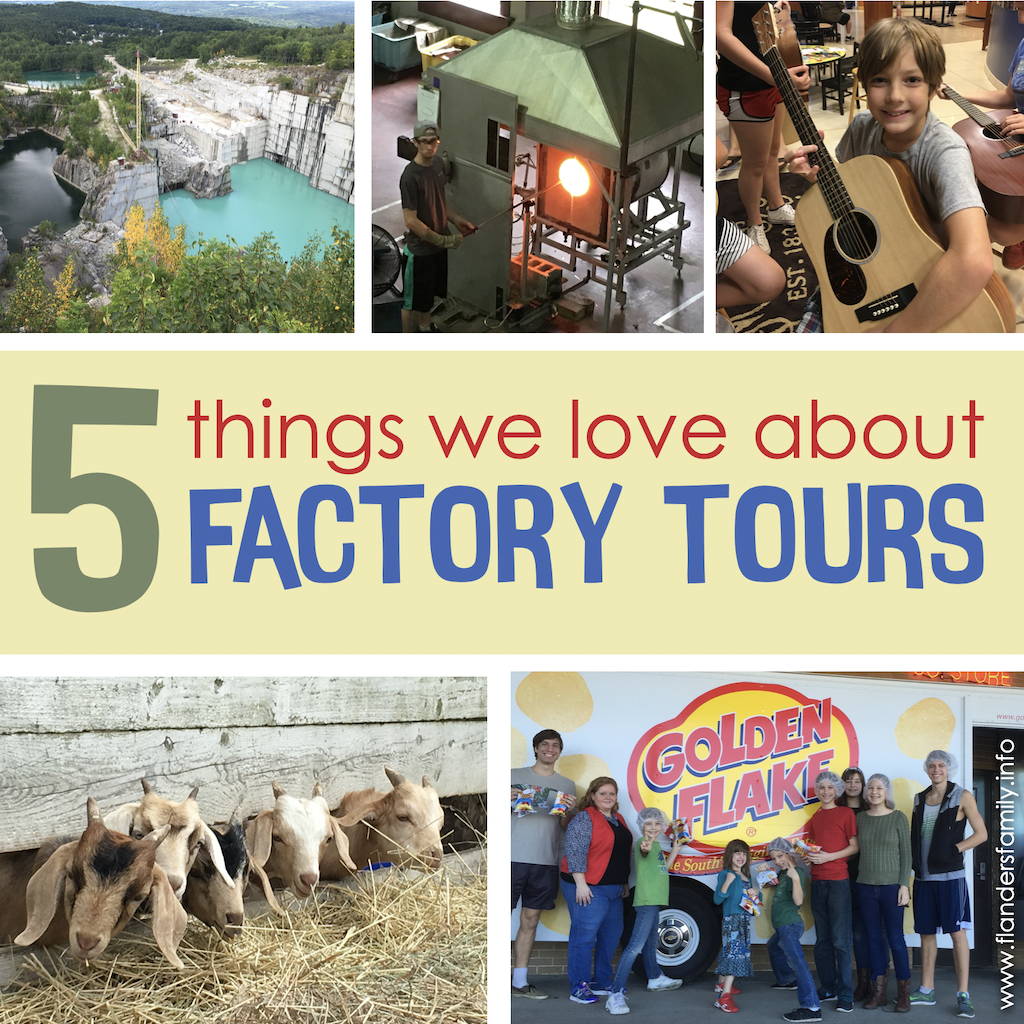 5 Things to Love about Factory Tours