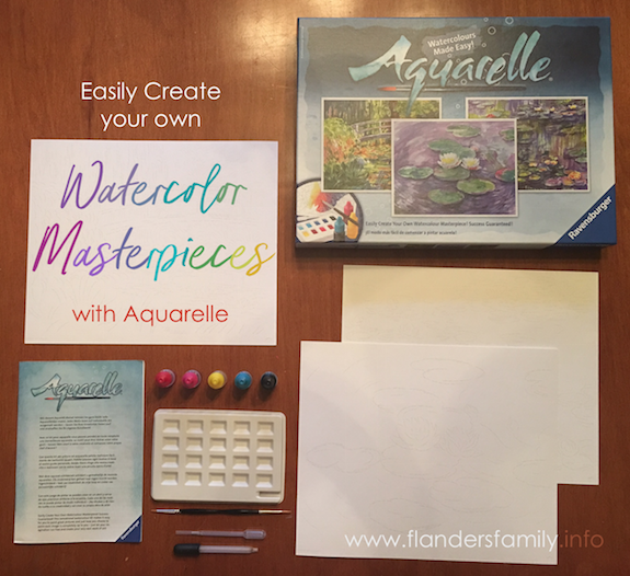 Easily create your own watercolor masterpieces with Aquarelle Monet