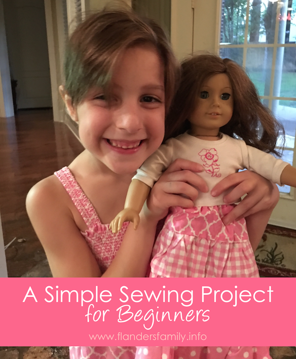 A Simple Sewing Project for Beginners