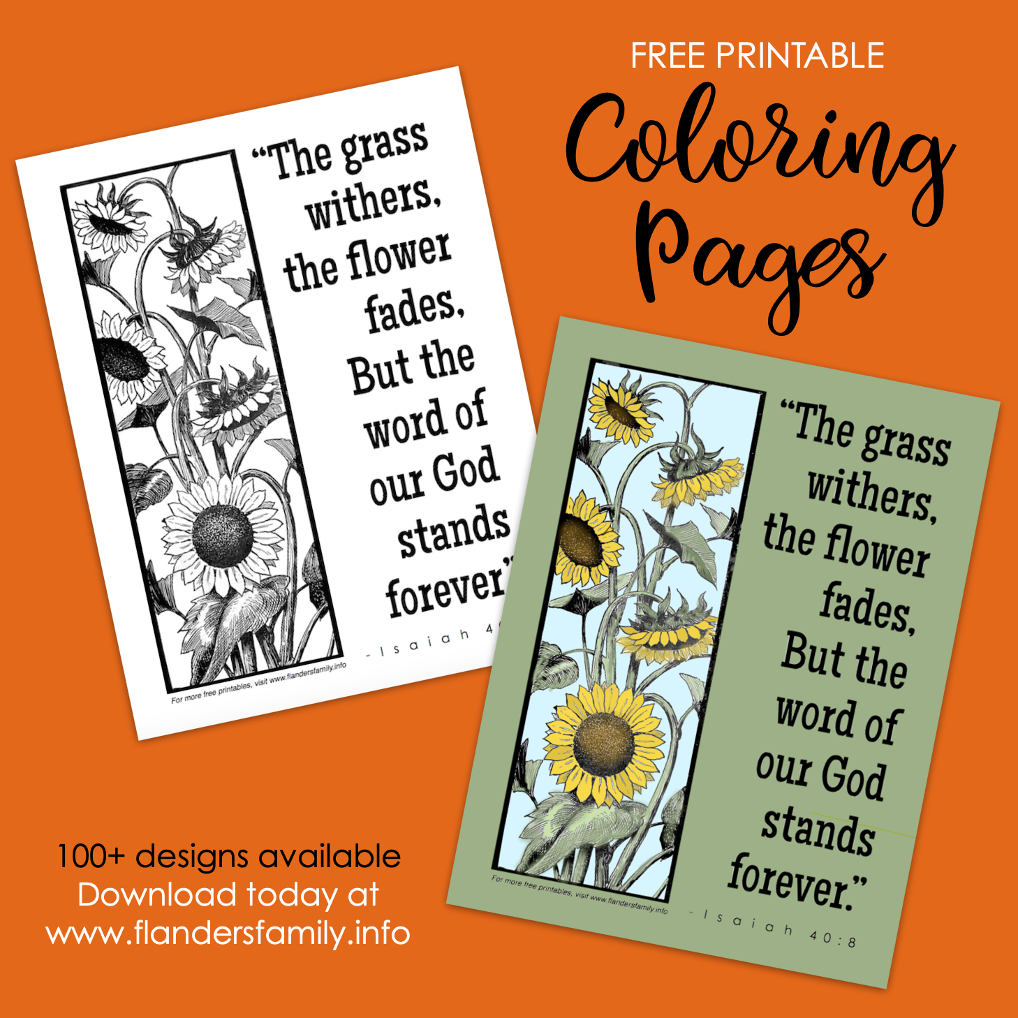 Word of God Coloring Page