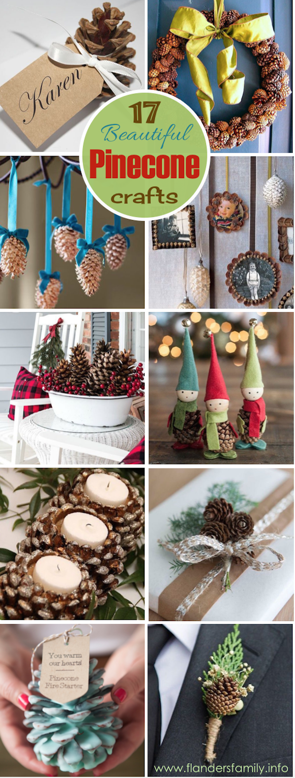 17 of the Prettiest Pinecone Crafts You'll Ever See