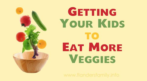 Getting Kids to Eat More Veggies