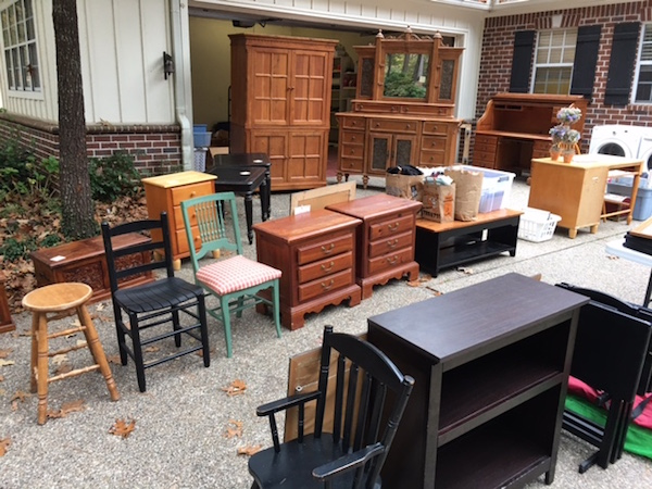 Garage Sale - you haul it off so we don't have to!