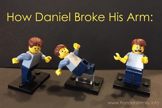 Daniel's Broken Arm
