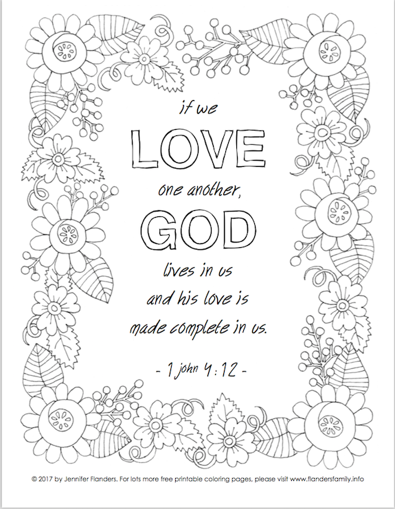 free scripture-based coloring pages from www.flandersfamily.info