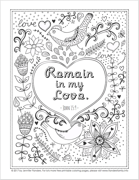 Free Bible-based coloring pages from www.flandersfamily.info