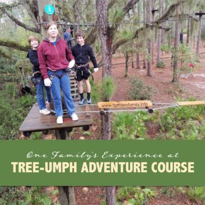 We Had a Tree-mendous Time at TreeUmph Adventure Course