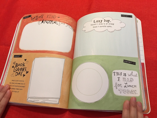 Doodle Your Day - What a cute journal for kids!