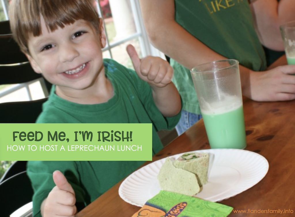 How to Host a Leprechaun Lunch