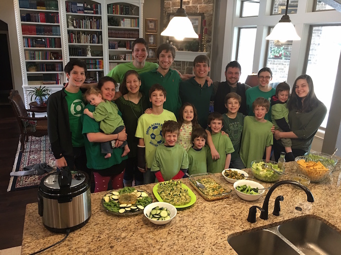 "Our Annual St. Paddy's Day ""Leprechaun Lunch"""