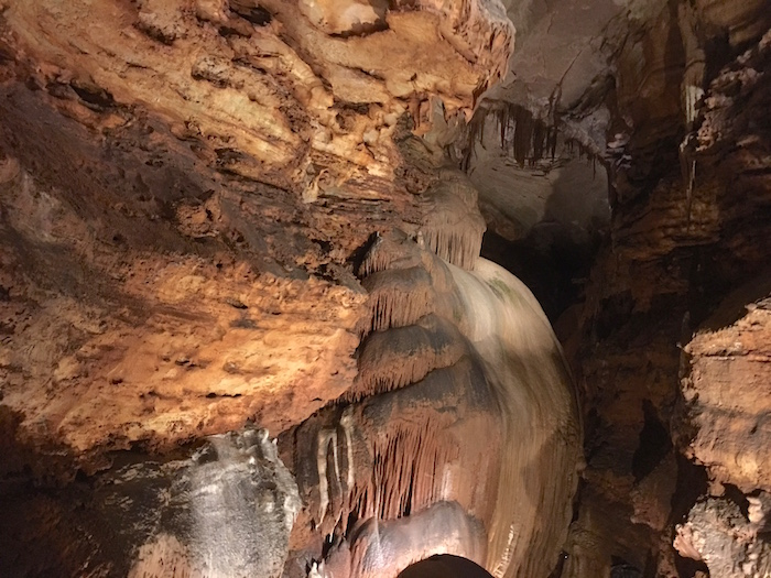 The Talking Rocks Cavern in Branson, MO