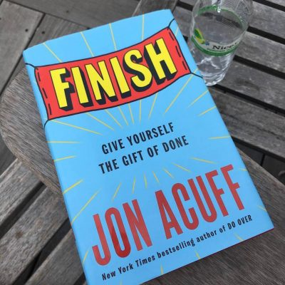 Finish (and 3 More New Releases for Your Reading Pleasure)