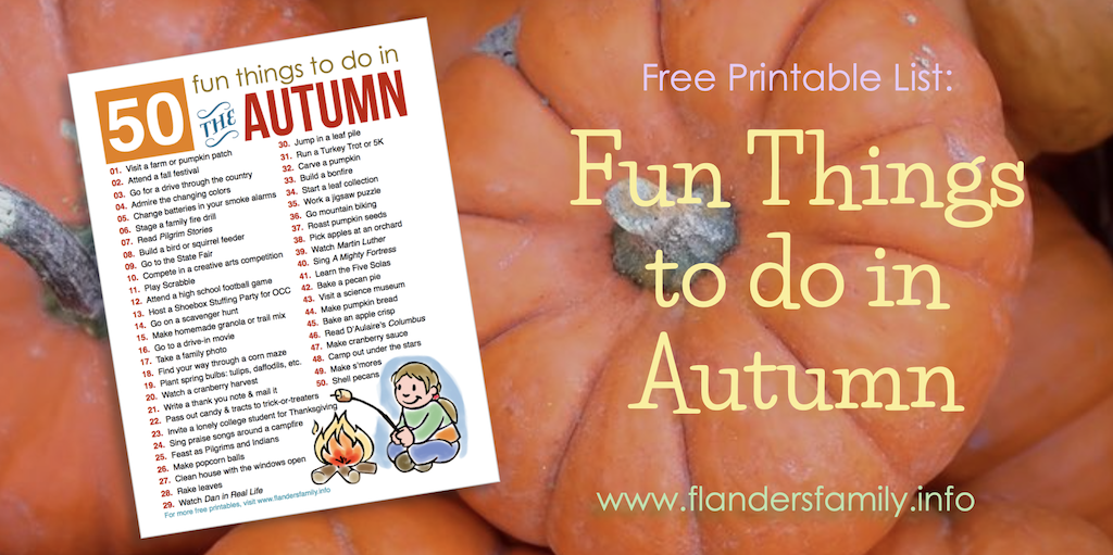 50 Fun Family Activities for Fall