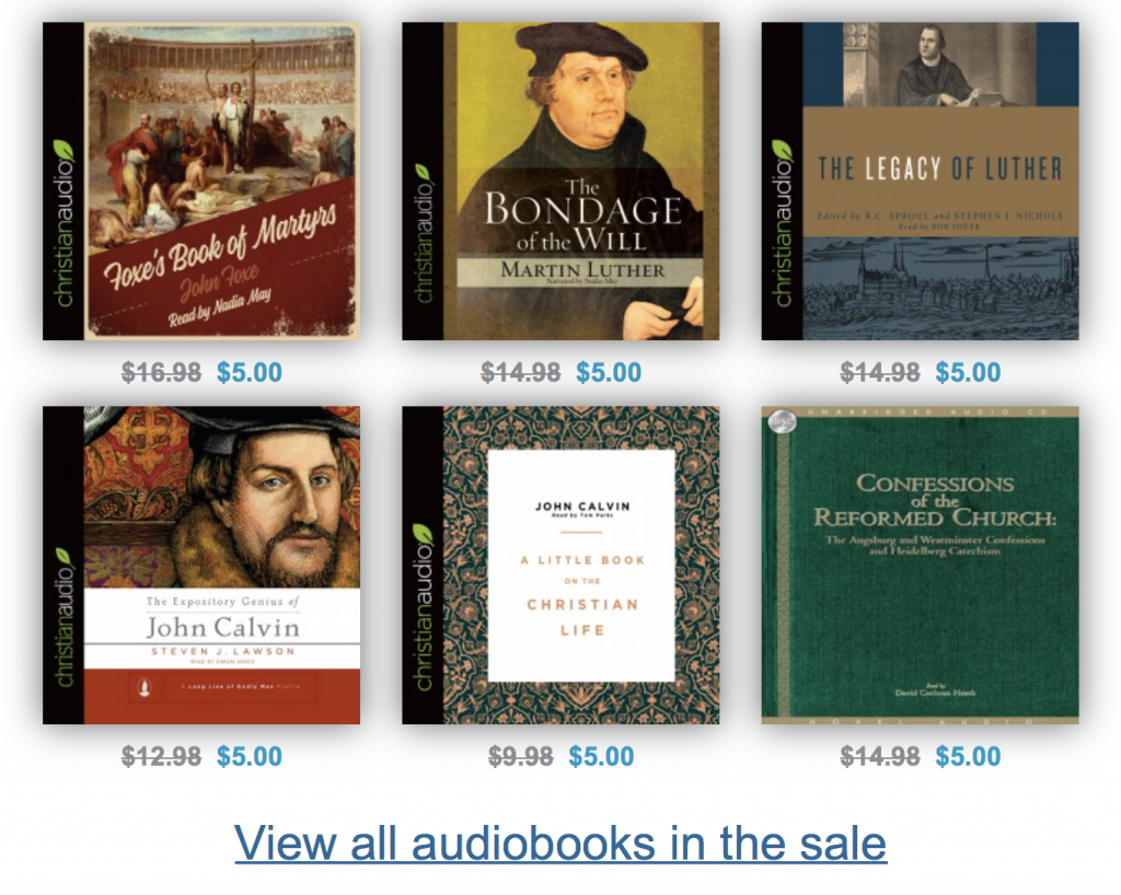 Audiobook Sale