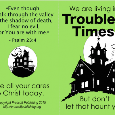 No Fear: Free Printable Halloween Tracts