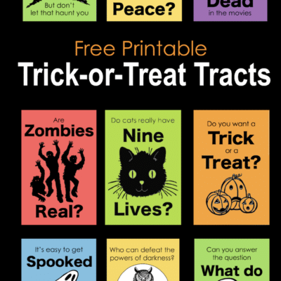 Free Printable Trick-or-Treat Tracts