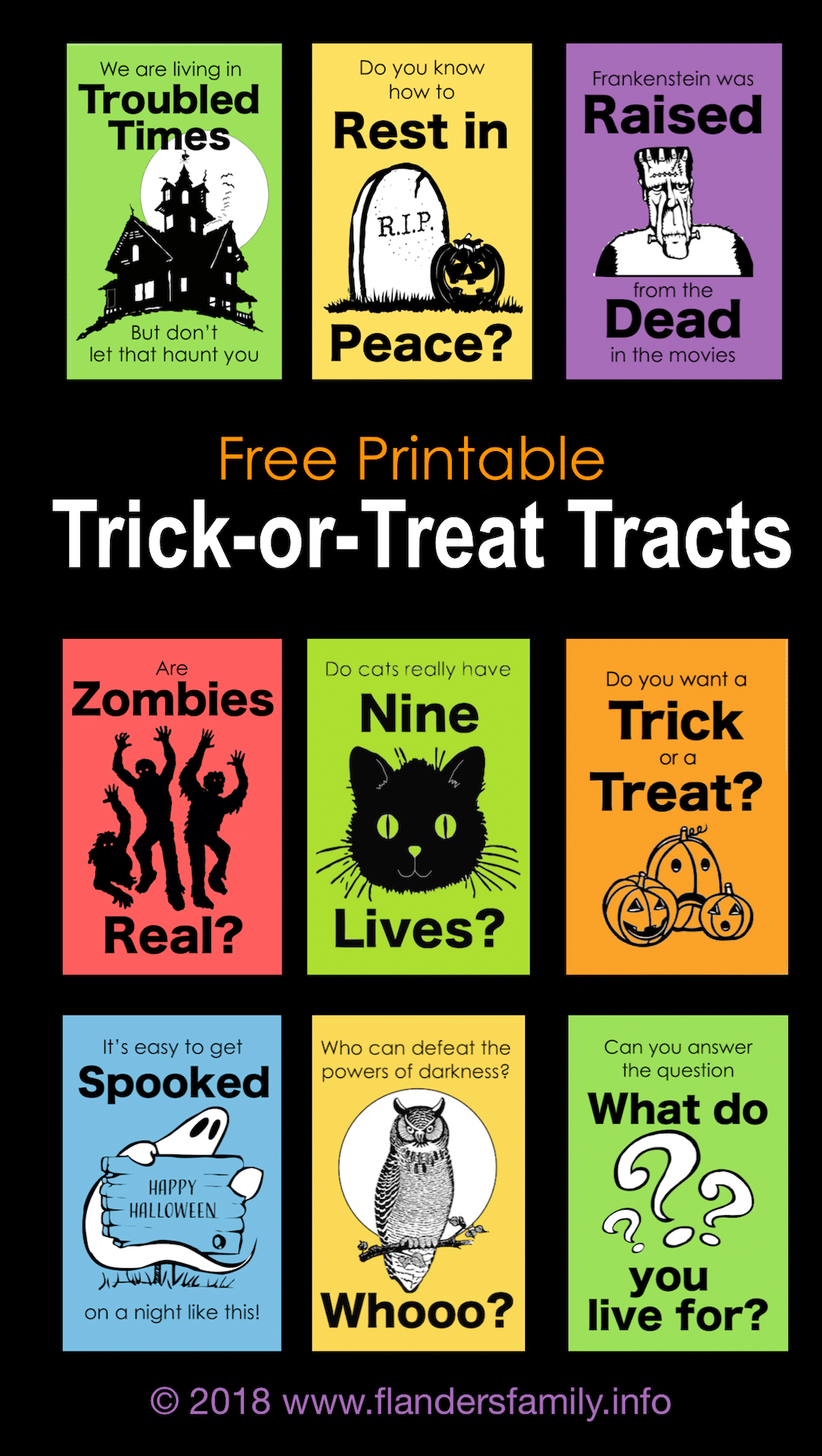 Trick-or-Treat Tracts