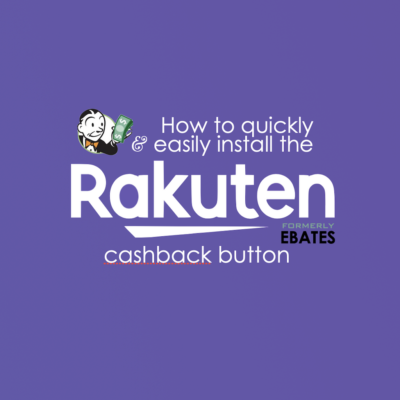 Earn Cashback with Rakuten (Video Tutorial)