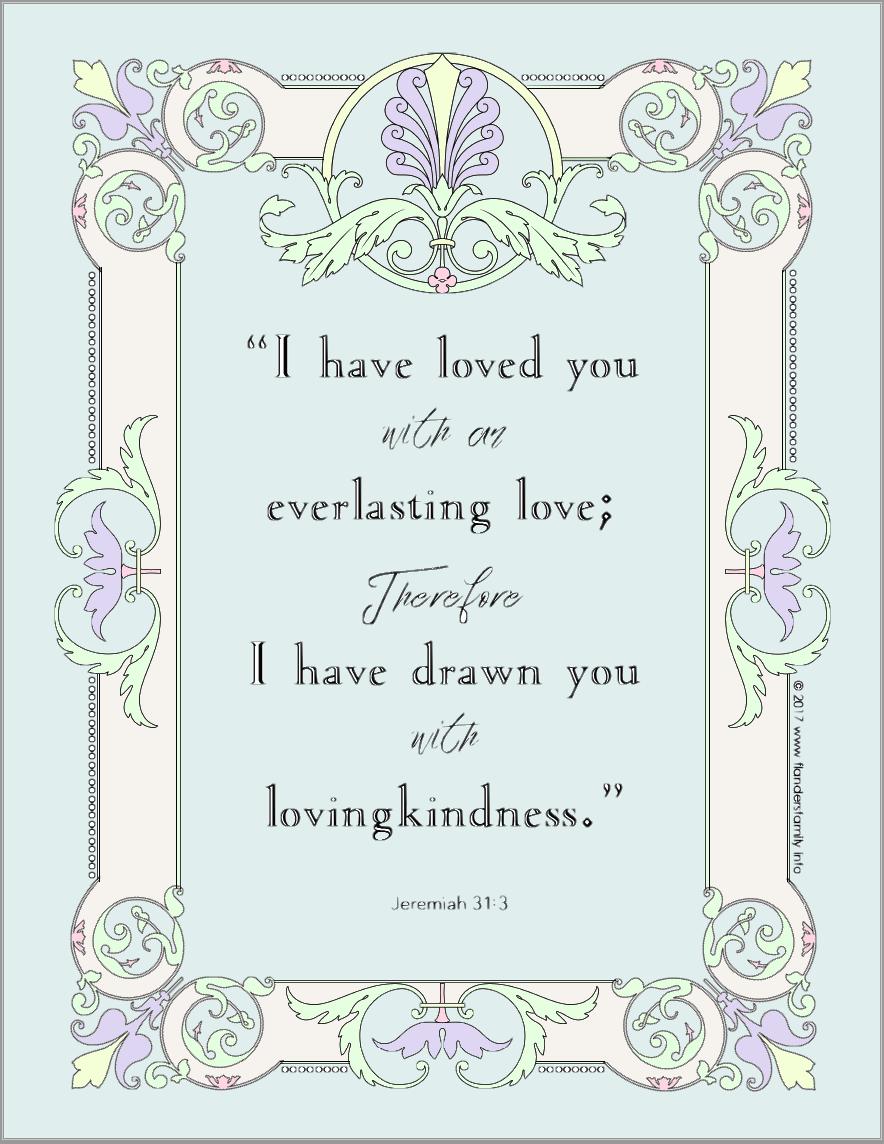 Coloring Page | Bible Based | Free Printable