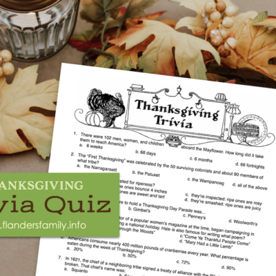 Thanksgiving Trivia Quiz: Test Your Knowledge