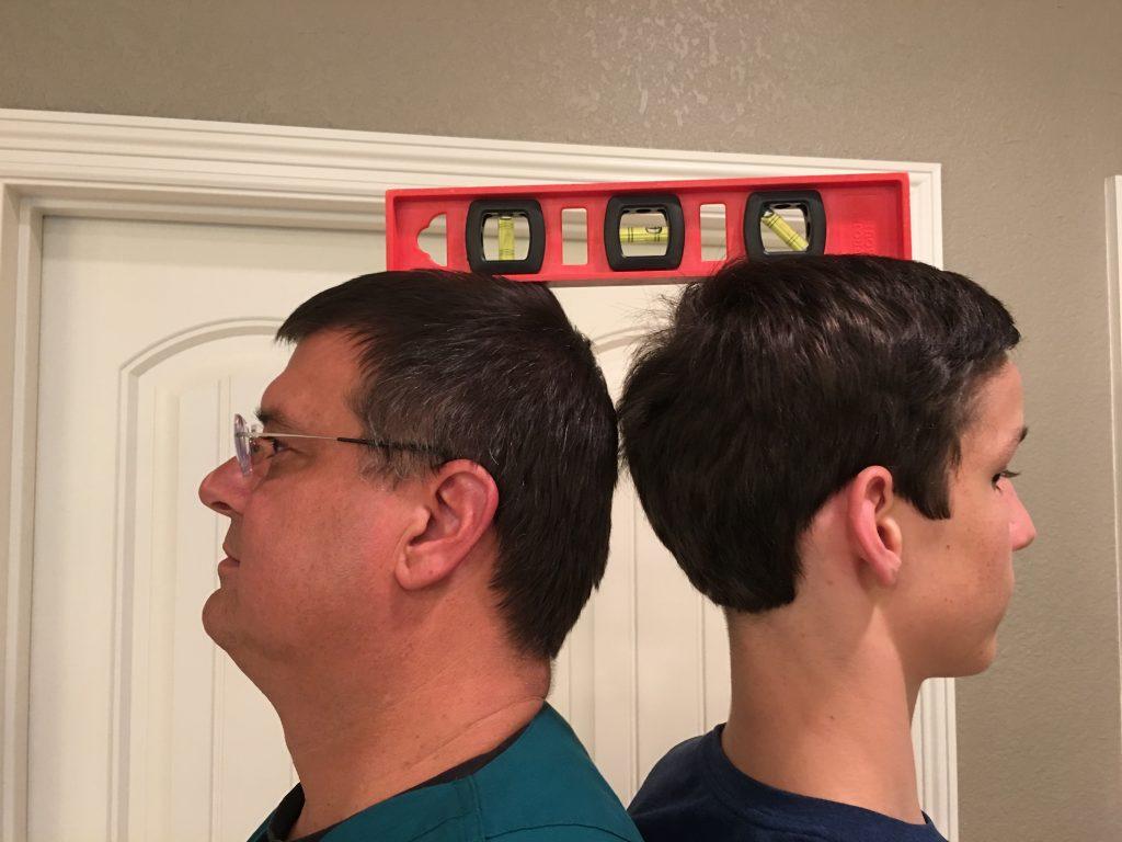 Isaac Passes Up Dad