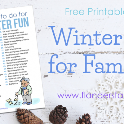 50 Things to Do for Winter Fun