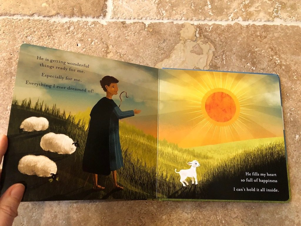 FOUND - a beautiful board book for children based on the 23rd Psalm